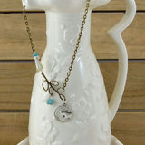 Scooples Designer Jewelry ANTIQUE VINTAGE BIRD Necklace