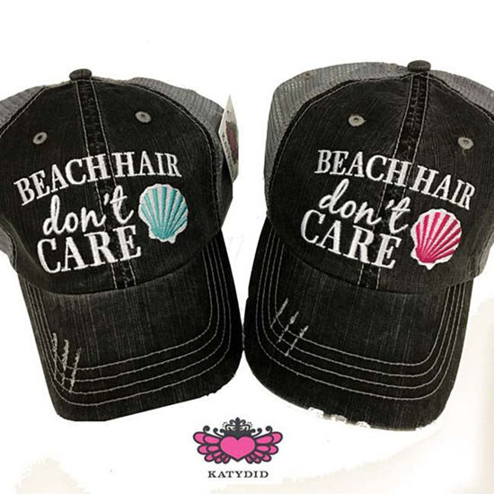 Katydid Beach Hair Don't Care Trucker Hat