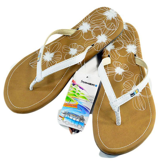 Freewaters VEZPA Flip Flop in White