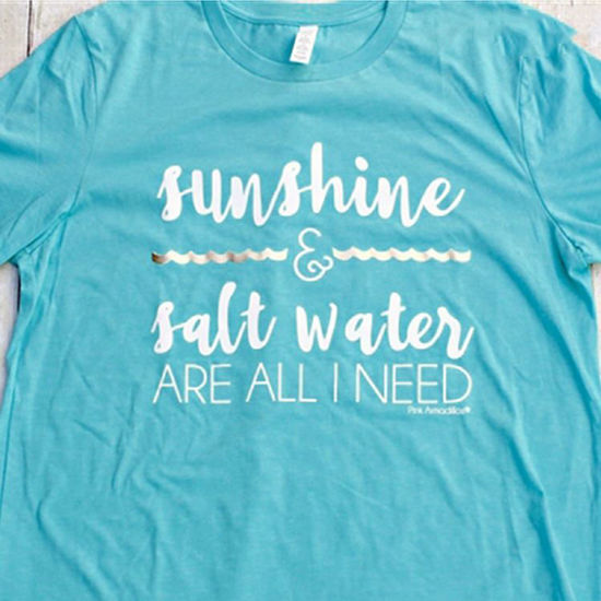Sunshine & Salt Water Vintage Boyfriend Tee