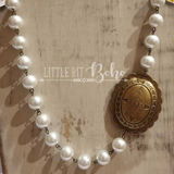 Pearl Concho Necklace