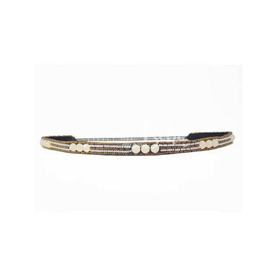 Pink Pewter JACQUELINE Stretch Band