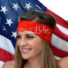 Crazy Train LACE 'N LOVE Headband in Red
