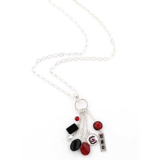 Cluster Necklace - USC Gamecocks