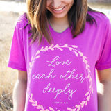 Love Each Other Deeply Tee
