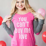 You Can't Buy Me Love Tee