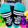 The World's Best Mom Socks