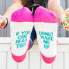 Donut Wake Me Up Socks
