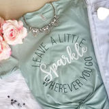 Leave a Little Sparkle Tee