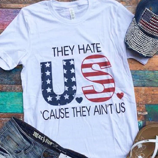 Hate US Vintage Boyfriend Tee