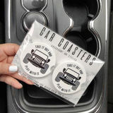 Take It Out & Play With It - Car Coaster Set