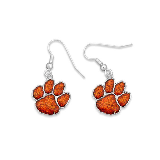 Clemson Tigers  - Game Day Glitter Earrings