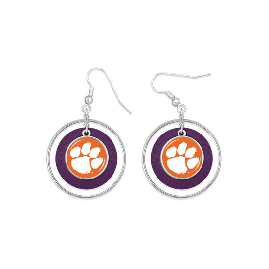 Clemson Tigers  - Lindy  Earrings