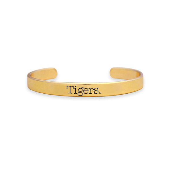 School Cuff Bracelet Gold Tigers