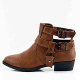 Betani Betani RUBY-8 Cut Out Ankle Bootie