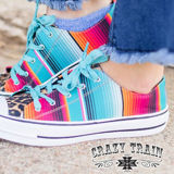 Trend Kickers Serape & Leopard Shoes