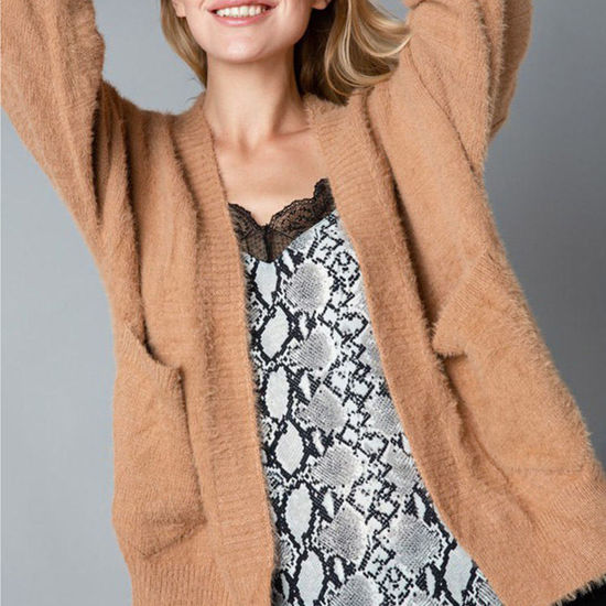 Cozy Up Fuzzy Cardigan