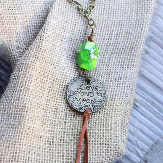 Love Beyond the Moon & Stars Necklace