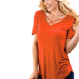 Game Day Crisscross Knit Top
