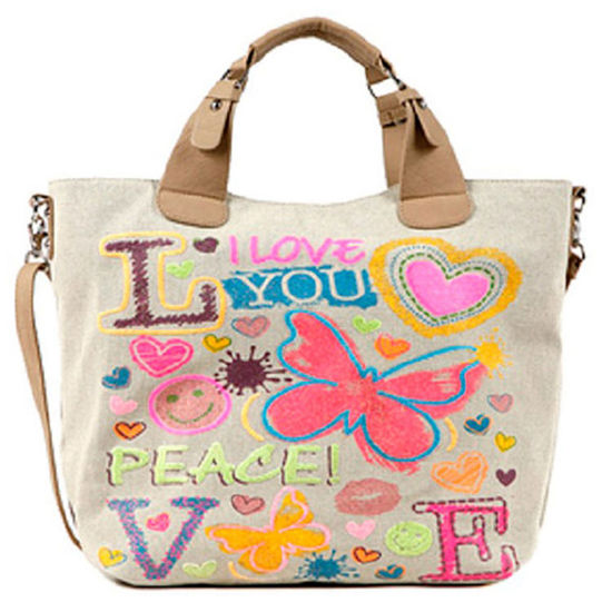 Nicole Lee Carolina Graphics Tote