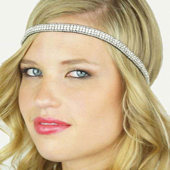 Pink Pewter GENEVIEVE Stretch Band