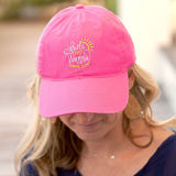 Girls Just Wanna Have Sun Hot Pink Cap