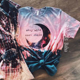 Stay Wild Moon Child Ombre Tee