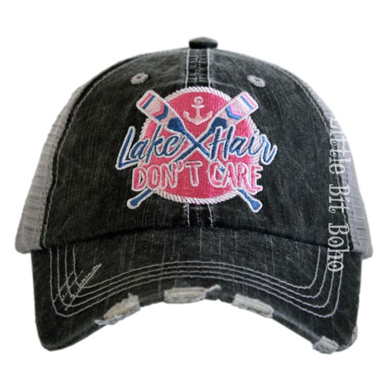Lake Hair Don't Care Patch Trucker Hat