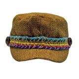 Rainbow Banded Canvas Cadet Cap