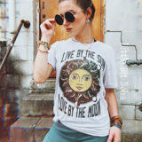 Live by the Sun Love by the Moon Tee