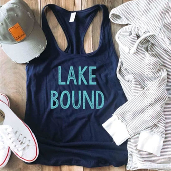 Lake Bound Racerback Tank