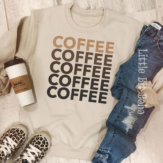 Five Shades of Coffee Sweatshirt